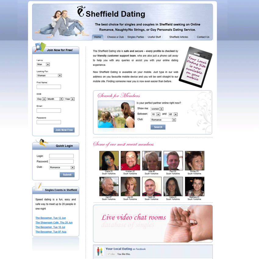 White Label dating site